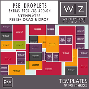 DROPLETS: Pocket Pages Extras Pack 8