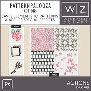 ACTION: Pattern Palooza CC Only