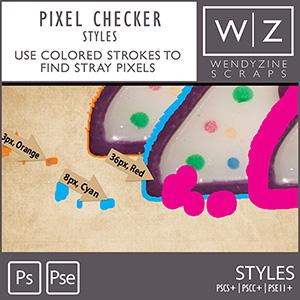 STYLES: Pixel Checker