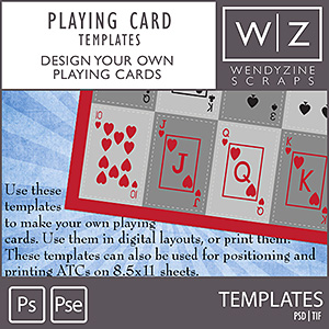 TEMPLATE: Playing Cards