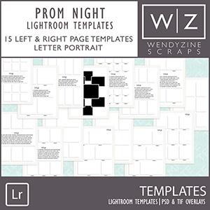 TEMPLATES: Yearbook {Prom} for Lightroom