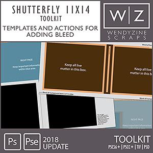 PHOTOBOOK TOOLKIT: Shutterfly 11x14 2018