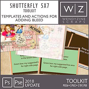 PHOTOBOOK TOOLKIT: Shutterfly 5x7 2018