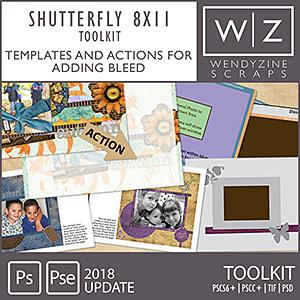 PHOTOBOOK TOOLKIT: Shutterfly 8x11 2018