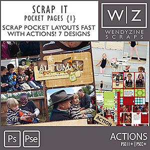 ACTION: Scrap It Pocket Pages {1}