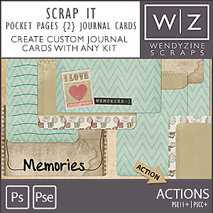 ACTION: Pocket Pages {2} Journalers