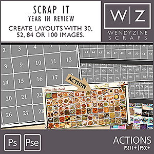 ACTION: Scrap It Collection {Year In Review}