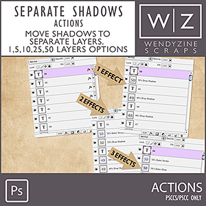 ACTION: Separate Shadows PSCC