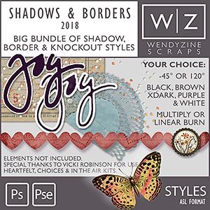 STYLES: Shadows & Borders {2018}