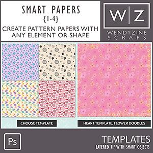 TEMPLATES: Smart Papers {1-4} PSCS/CC
