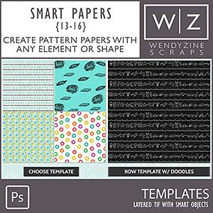 TEMPLATES: Smart Papers {13-16} PSCS/CC