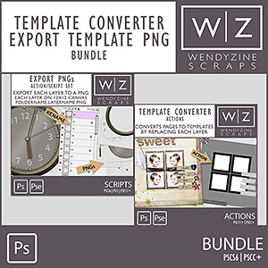 BUNDLE: Template Converter & Export Template PNGs v3