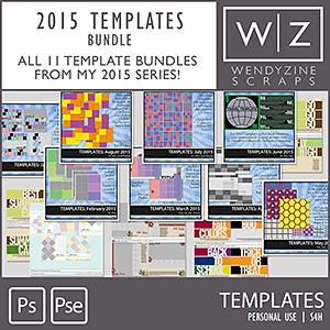BUNDLE: 2015 Templates