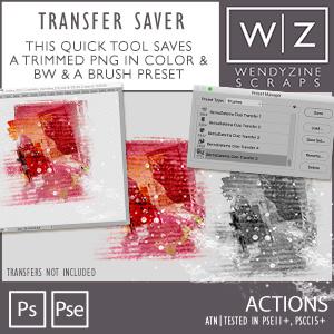 ACTION: Transfer Saver