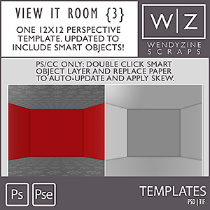 TEMPLATES: View It Room Templates {3}