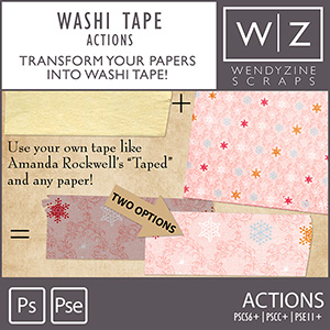 ACTION: Washi Tape It {Collab}