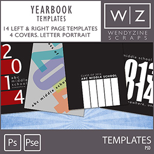 TEMPLATES: Yearbook {Letter}