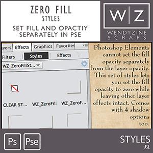 STYLES: Zero Fill