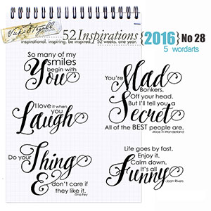 52 Inspirations 2016 - no 28