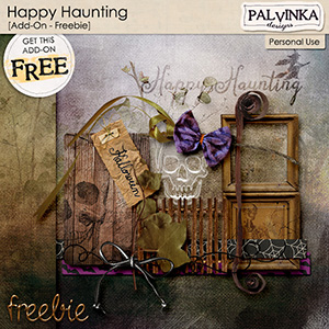 Happy Haunting Add On Freebie