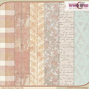 Autumnal Equinox Paper Mini