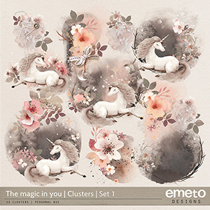 The magic in you - Clusters | Set 1