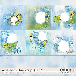 April shower - Quick pages - part1
