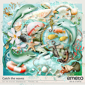 Catch the waves by emeto designs