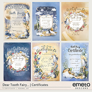 Dear Tooth Fairy...Tooth Fairy Certificates {All}