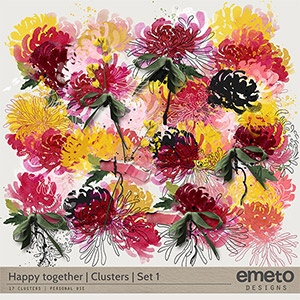 Happy together - Clusters - Set1