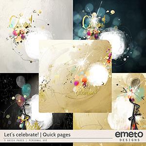 Let's Celebrate! - Quick pages