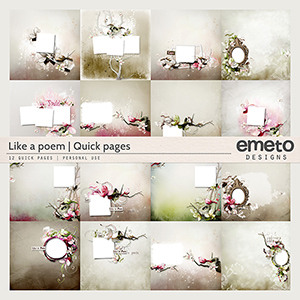 Like a Poem - Quick Page Album