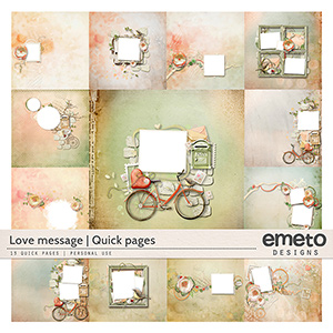 Love message - Quick pages