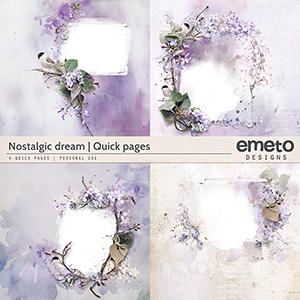 Nostalgic dream - quick pages