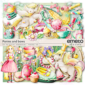 Ponies and bows
