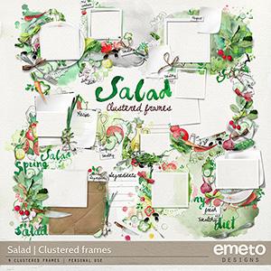 Salad Clustered frames