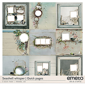 Seashell Whisper - Quick pages