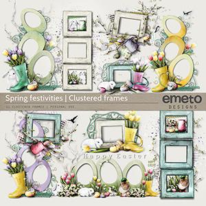 Spring festivities - Clustered frames
