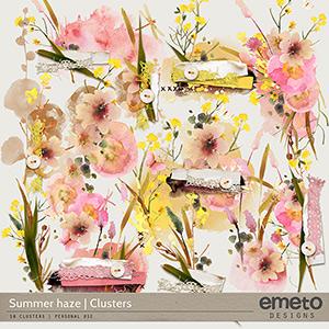 Summer haze - clusters