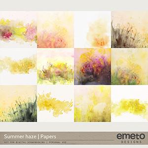 Summer haze - papers