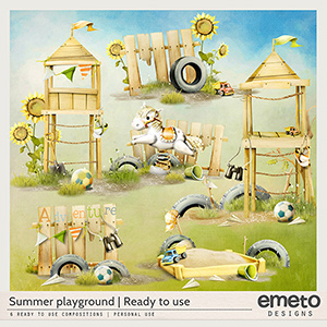 Summer Playground - Ready to use