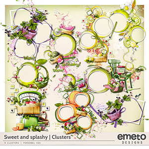 Sweet and Splashy Clusters