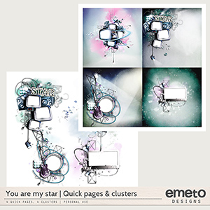 You are my star - Quick pages and clusters