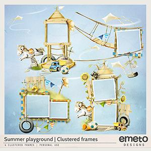 Summer Playground - clustered frames