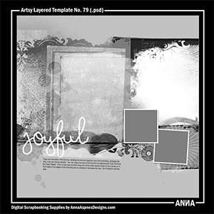 Artsy Layered Template No. 79