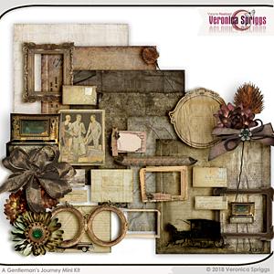 A Gentleman's Journey Mini Kit by Veronica Spriggs