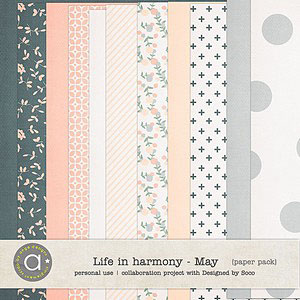 Life In Harmony - May {Papers}