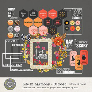 Life In Harmony - October {Elements}