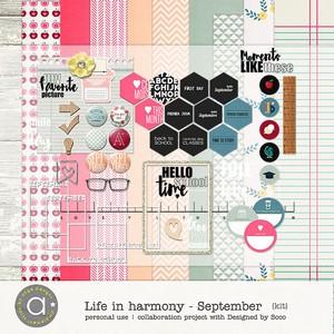 Life In Harmony - September {Kit}