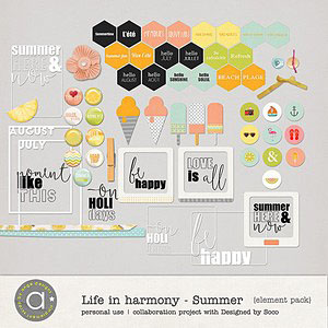 Life In Harmony - Summer {Elements}